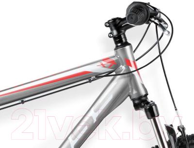 Велосипед Kross Hexagon X1 2016 (L, серый/белый/красный глянцевый)