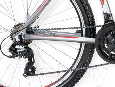 Велосипед Kross Hexagon X1 2016 (S, серый/белый/красный глянцевый)