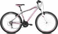 Велосипед Kross Lea F2 2016 (XS, графит/розовый/белый матовый) -