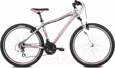 Велосипед Kross Lea F2 2016 (XS, графит/розовый/белый матовый)