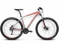 Велосипед Kross Level B1 2016 (L, графит/красный/черный глянец) -