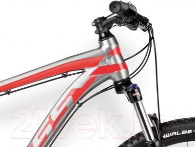Велосипед Kross Level B1 2016 (L, графит/красный/черный глянец)