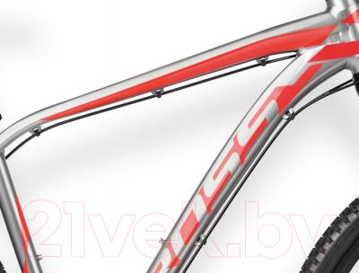 Велосипед Kross Level B1 2016 (S, графит/красный/черный глянец)