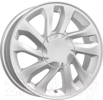 "Литой диск KnK KC677 Vesta Silver 15x6"" 4x100мм DIA 60.1мм ET 50мм"