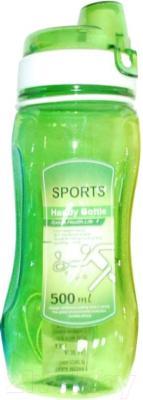 Спортивная бутылка NoBrand 7744CJ (зеленый)