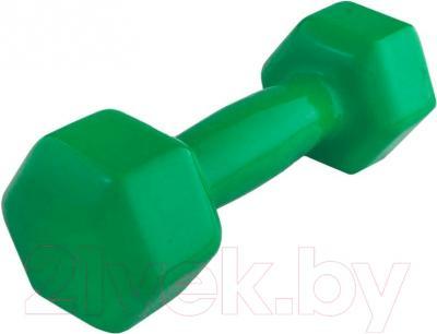Гантель NoBrand 4kg (зеленый)