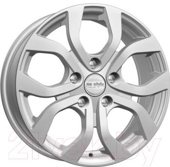 """Литой диск KnK КС704 Cerato Silver 16x6.5"""" 5x114.3мм DIA 67.1мм ET 50мм 65849"""