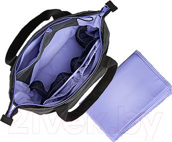 Сумка для мамы BabyBjorn SoFo Grey Lavender 0380.88