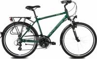 Велосипед Kross Trans India 2016 (L, зеленый/платиновый матовый) -