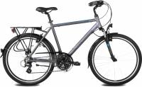 Велосипед Kross Trans India 2016 (M, графитовый/синий матовый) -