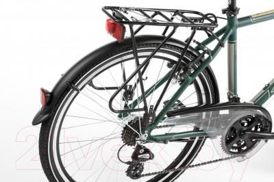 Велосипед Kross Trans India 2016 (M, зеленый/платиновый матовый)