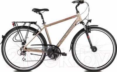 Велосипед Kross Trans Siberian 2016 (M, медный/красный матовый)