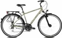 Велосипед Kross Trans Siberian 2016 (M, хаки/серебристый матовый) -