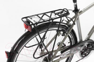 Велосипед Kross Trans Siberian 2016 (M, хаки/серебристый матовый)