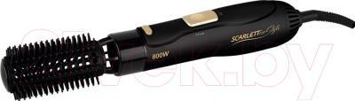 Фен-щётка Scarlett SC-HAS73I09 (черный с золотом)