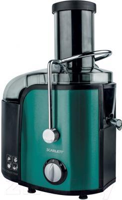 Соковыжималка Scarlett SC-JE50S29 (темная бирюза)
