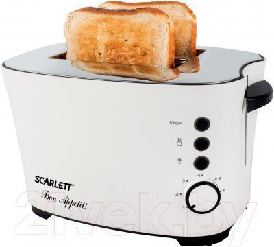 Тостер Scarlett SC-TM11005 (белый)