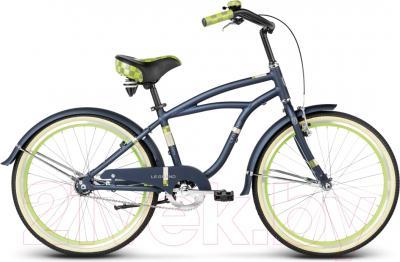 Велосипед Le Grand Bowman Jr 2016 (14, синий/красный)