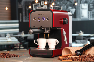 Кофеварка эспрессо Polaris PCM 1516E Adore Crema