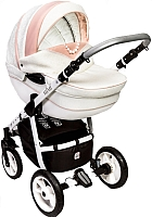 Детская универсальная коляска Dada Paradiso Group Mimi 3 в 1 (розовый) -