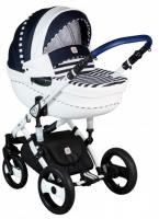 Детская универсальная коляска Dada Paradiso Group Stars 3в1 (синий) -