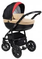Детская универсальная коляска Dada Paradiso Group Leo Special 3в1 (черный) -