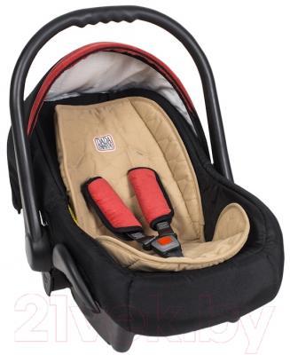 Детская универсальная коляска Dada Paradiso Group Leo Special 3в1 (черный)