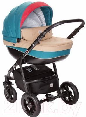 Детская универсальная коляска Dada Paradiso Group Leo Special 3в1 (синий)