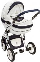 Детская универсальная коляска Dada Paradiso Group Glamour Alu 3в1 (белый) -