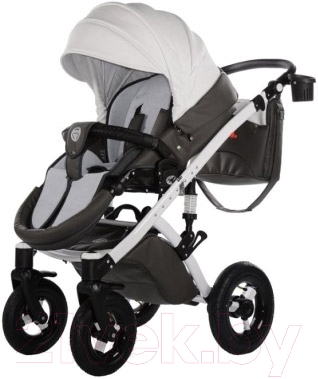 Детская универсальная коляска Tako Moonlight Carbon (01) - прогулочный блок на примере модели другого цвета