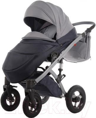 Детская универсальная коляска Tako Moonlight Omega Gray (01) - внешний вид прогулочного блока на примере модели другого цвета