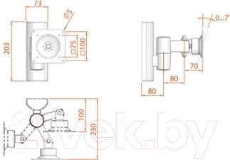 Кронштейн для телевизора Electric Light КБ-01-11