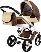 Детская универсальная коляска Tako Toddler 2 в 1 (06/коричнево-бежевый) -