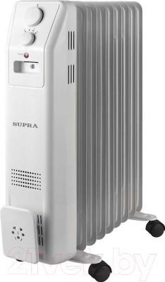 Масляный радиатор Supra ORS-09-SN (белый)