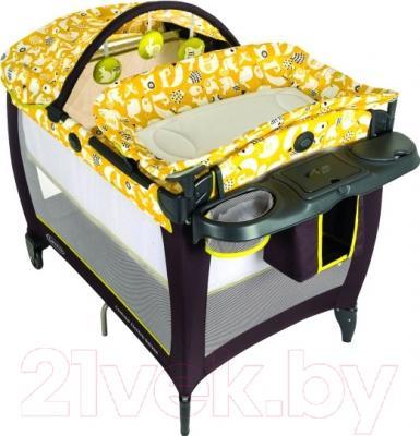 Кровать-манеж Graco Contour Electra / 9D79SGGE (Spring Lime)