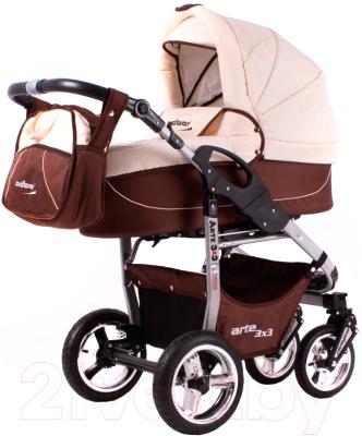 Детская универсальная коляска Adbor Arte 3x3 (26a)