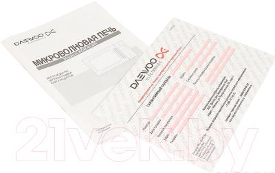 Микроволновая печь Daewoo KOR-6LBRB - документы