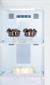 Холодильник с морозильником Daewoo FRS-T30H3SM