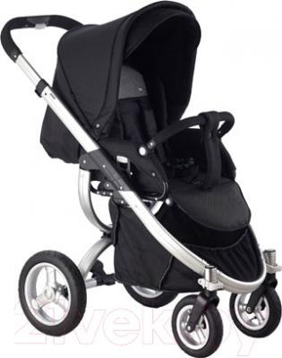 Детская универсальная коляска Roan Teo Silver (Raspberry) - прогулочный блок на примере модели другого цвета