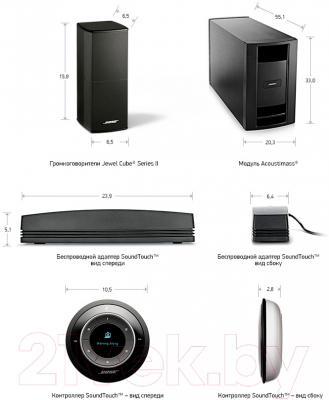 Акустическая система Bose SoundTouch Stereo JC II (черный)