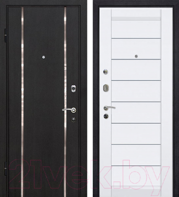 Входная дверь МеталЮр М8 (96х206, левая)