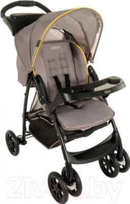 Детская прогулочная коляска Graco Mirage / 6M187YLGE (желтый/серый)
