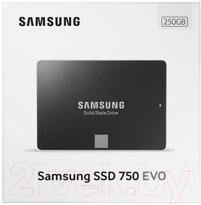SSD диск Samsung 750 Evo 250GB (MZ-750250BW)