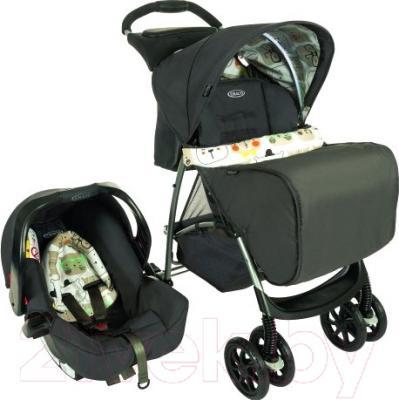 Детская универсальная коляска Graco Mirage / 7M69BWTE (Bowtie Bear)