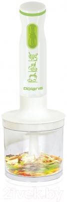 Блендер погружной Polaris PHB0528 (белый/зеленый)