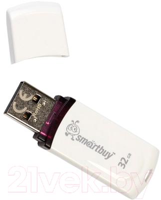 Usb flash накопитель SmartBuy Paean 32GB (SB32GBPN-W)