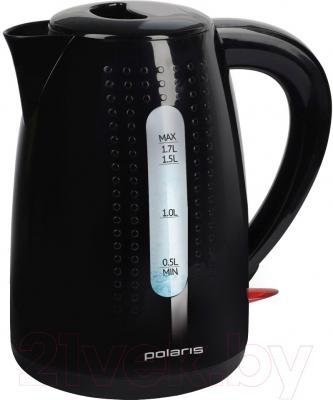 Электрочайник Polaris PWK1746C (черный)