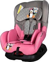 Автокресло Lorelli Concord Grey Pink Pinguin -