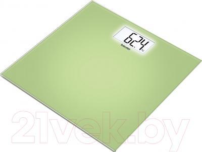 Напольные весы электронные Beurer GS 208 (зеленый)