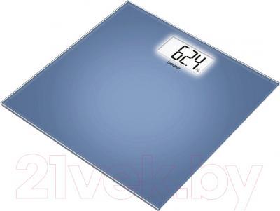 Напольные весы электронные Beurer GS 208 (синий)